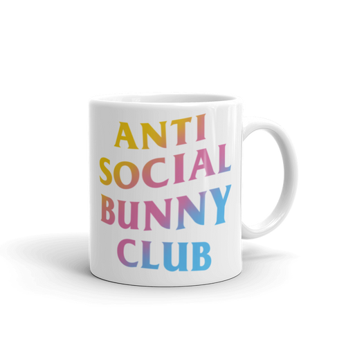 Anti Social Bunny Club Mug (Color)