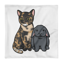 Nutmeg and Snoot Square Pillow Case only