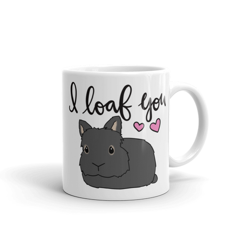 Custom Lionhead I Loaf You Mug