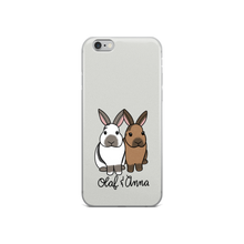 Olaf And Anna iPhone Case