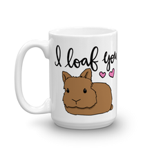 Lionhead I Loaf You Mug (Brown)