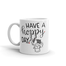 Have A Hoppy Day Mug (Grey White)