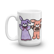 Lavender BunBun And Peachy Mug