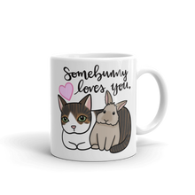 Kitty and Bunny Mug