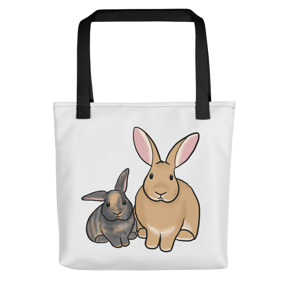 Moxie and Wilbur Tote bag