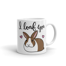 Dutch Bunny I Loaf You Mug