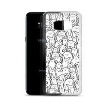 Bunnies Everywhere Monochrome Samsung Case