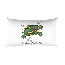 Sleepy The Turtle Rectangular Pillow