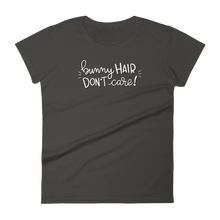 Bunny Hair Don't Care Women's T-shirt