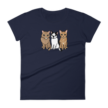 Three Kitties Group Women's T-shirt