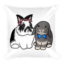 Oreo and Cooper Square Pillow