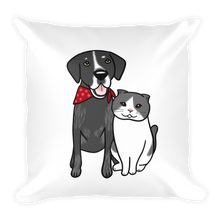 Seamus and Angus Square Pillow Case