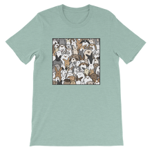 Bunnies Everywhere Colored Unisex T-Shirt
