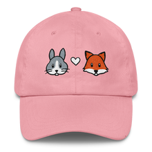 Bunny and Fox Cap