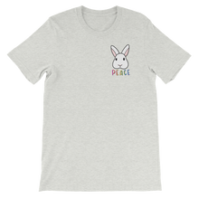 Peace Sign Bunny Unisex T-shirt