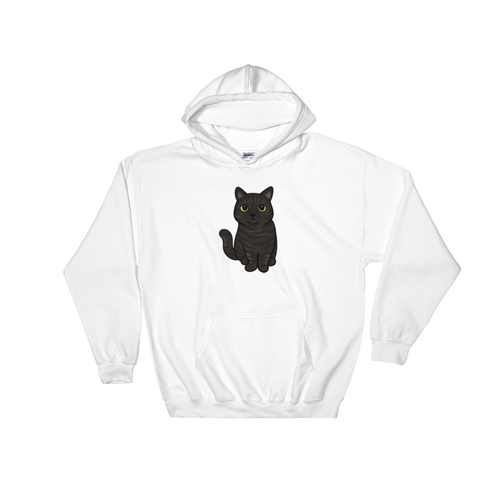 Astrid the Cat Hooded Sweatshirt