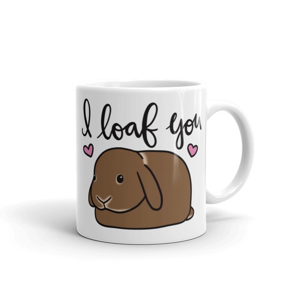 Chocolate Lop I Loaf You Mug