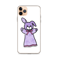 Lavender Bunbun iPhone Case (X and above)