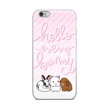 Three Cute Bunnies iPhone Case
