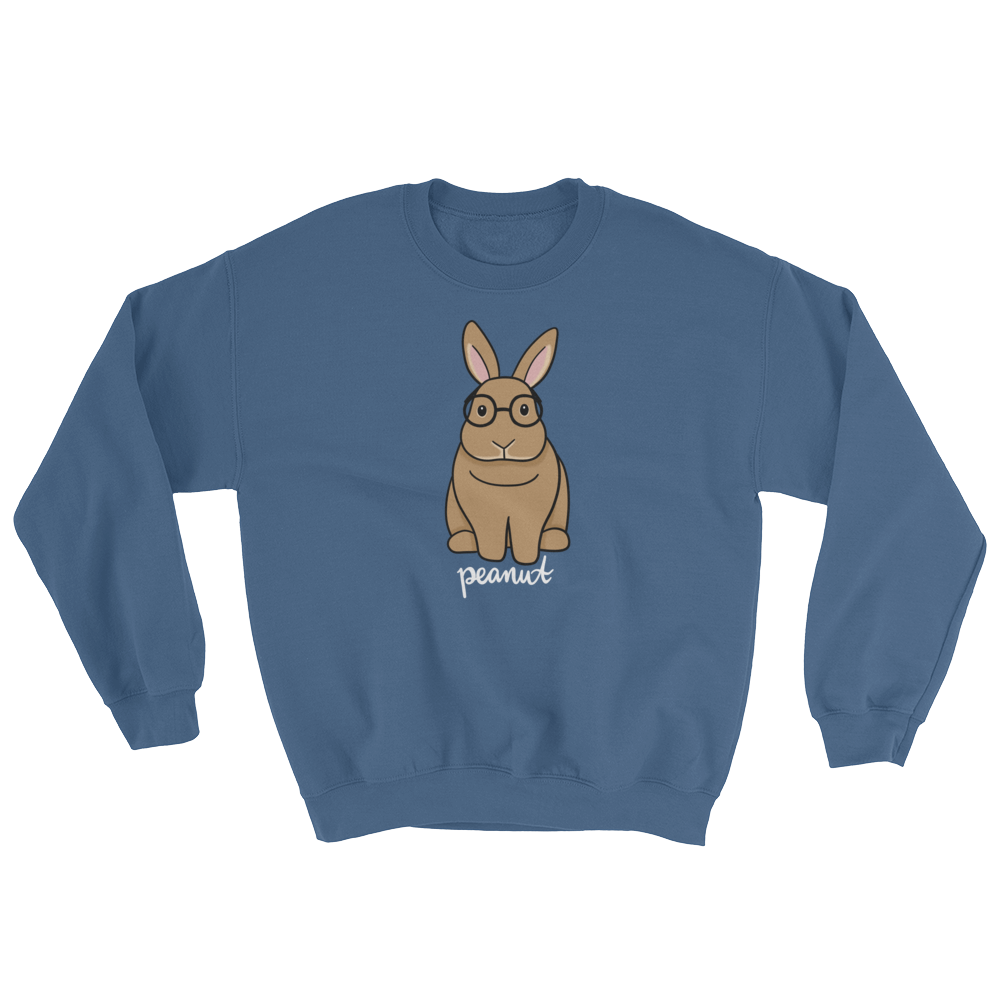 Peanut with Glasses Sweatshirt