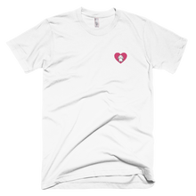 Small Heart Lop Bunny Embroidered T-Shirt