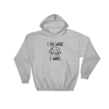 I Do What I Want Lop Hooded Sweatshirt