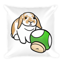Satchmo The Lop Square Pillow