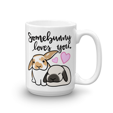 Custom Somebunny Loves You Mug