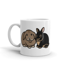 Lop and Dwarf Bunny Mug