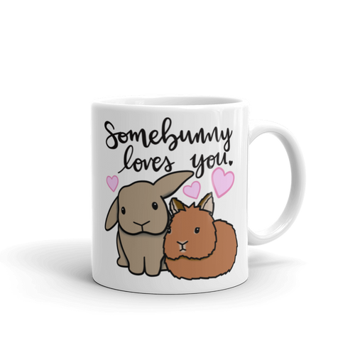 Custom Loves You Mug (lop x lionhead)