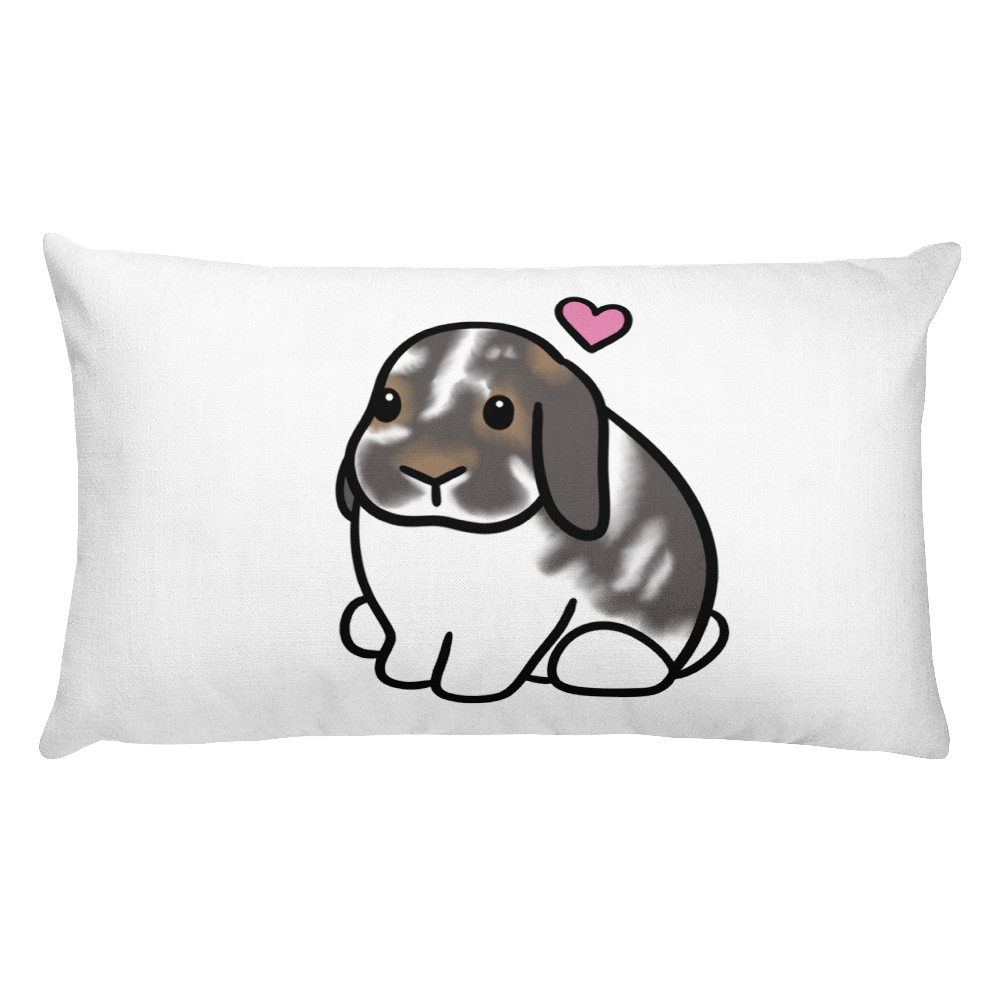Love Bunny The Lop Rectangular Pillow