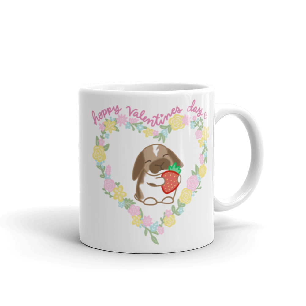 Hoppy Valentines Day Mug