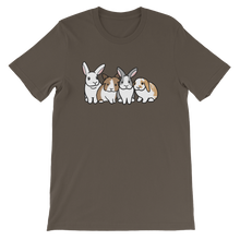 Four Cute Bunnies Unisex T-Shirt