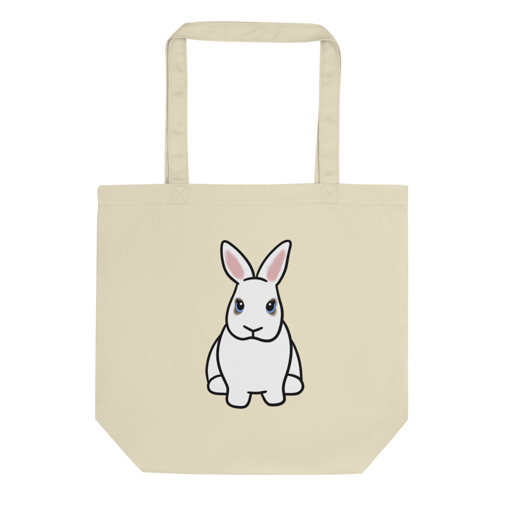Zipper the Bunny Eco Tote Bag