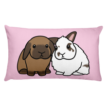 Gus and Rudy Rectangular Pillow