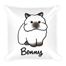 Benny the Lionhead Square Pillow