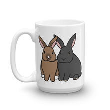 Two Sitting Bunnies Mug