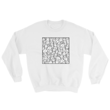 Bunnies Everywhere Monochrome Sweatshirt