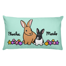 Phoebe and Marlo Rectangular Pillow