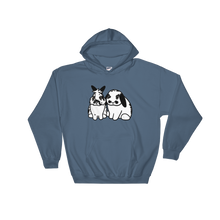 King Booger and Anubis Hooded Sweatshirt