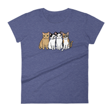 Four Kitties Group Women's T-shirt