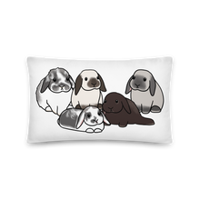 Otis Ollie Milo Marvin and Gus Rectangular Pillow