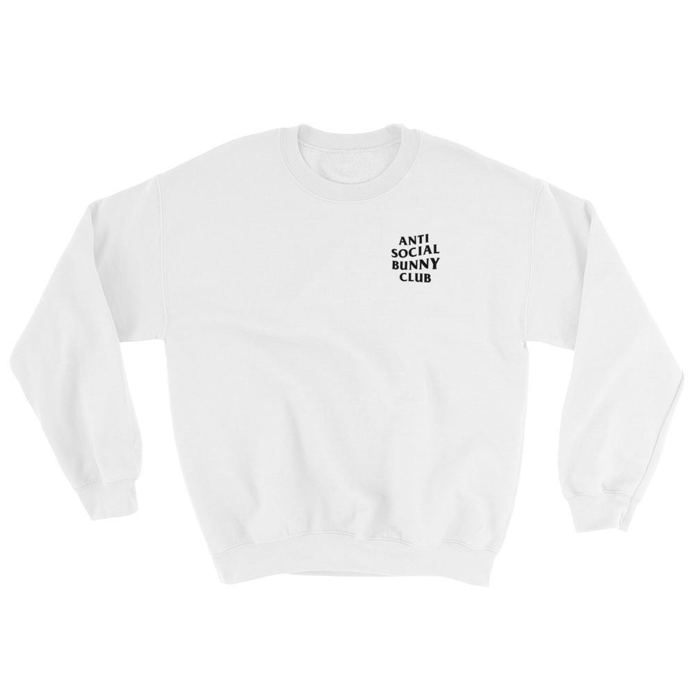 Anti Social Bunny Club Sweatshirt (Light Colors)