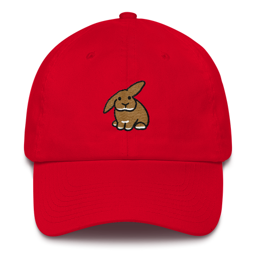 Half Lop Bunny Cotton Cap