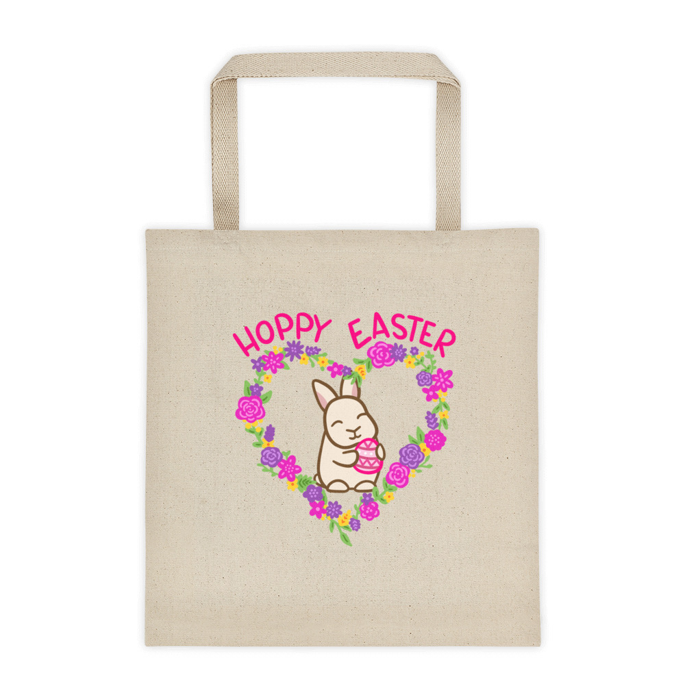 Hoppy Easter Uppy Ear Tote bag