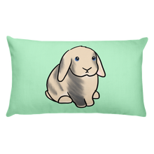 Ruby The Lop Rectangular Pillow