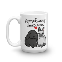 Somebunny Loves You Mug (Lop And Dwarf)