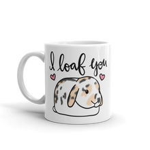 I Loaf You Mug (Calico)