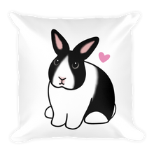 Smiling Dutch Gloria Square Pillow