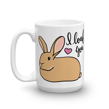 Flemish Giant I Loaf You Mug
